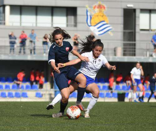 Girls' football keeps growing in the Donosti Cup